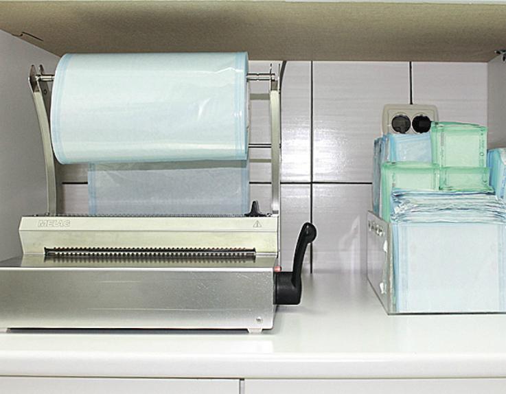 Рис. 3. Аппарат для запечатывания инструментов.