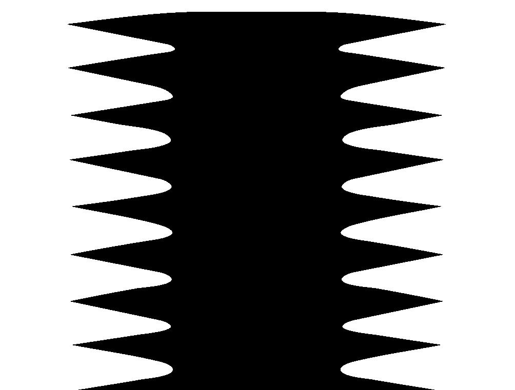Рис. 3. Иллюзия преобладания вертикального размера над горизонтальным.