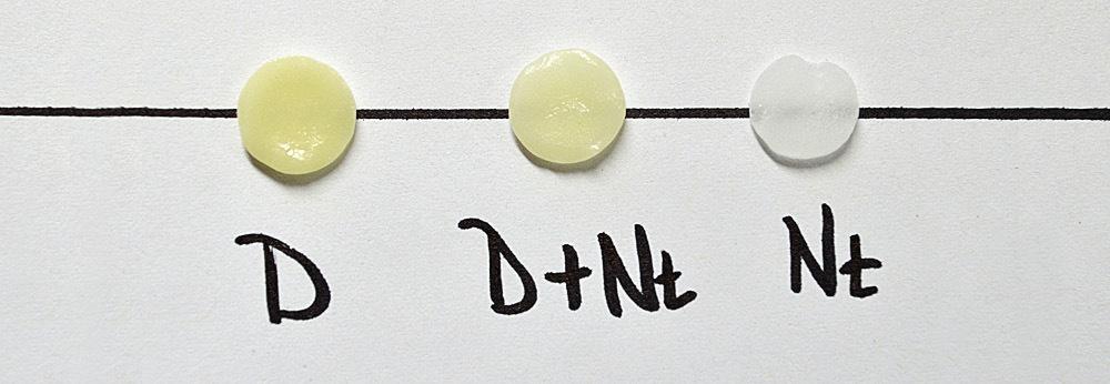 Рис. 7. «Разбавленный» дентин.