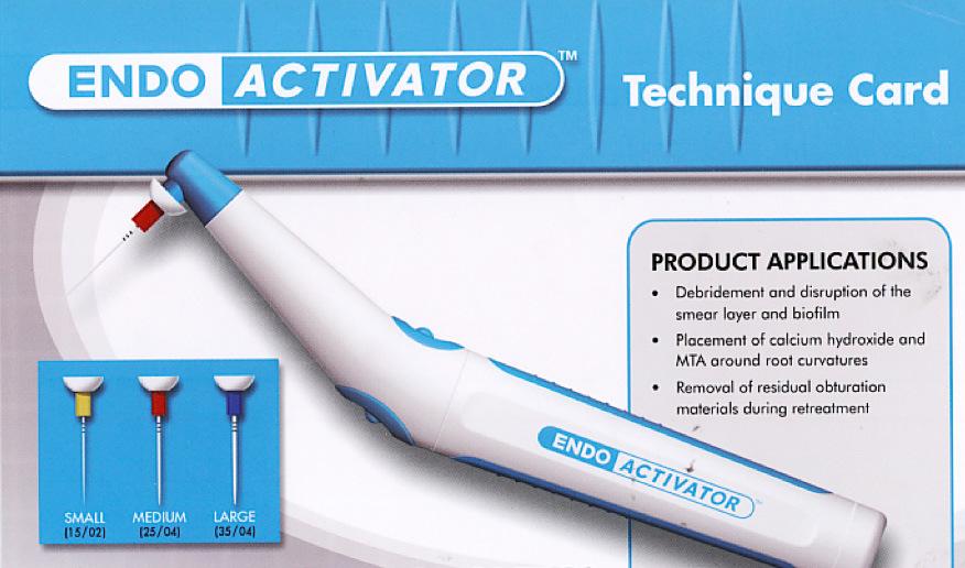 Рис. 9. Аппарат для ирригации Endoactivator®.