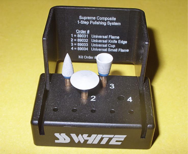 Рис. 7. Полировочная система Jazz Supreme (SS White).