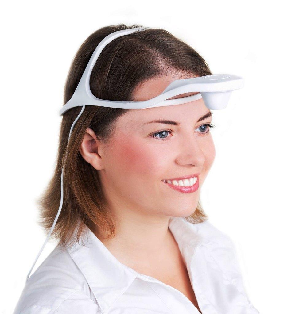 Рис. 1. Оптический аппарат для регистрации артикуляции н/ч Dentograf (Prosystom).
